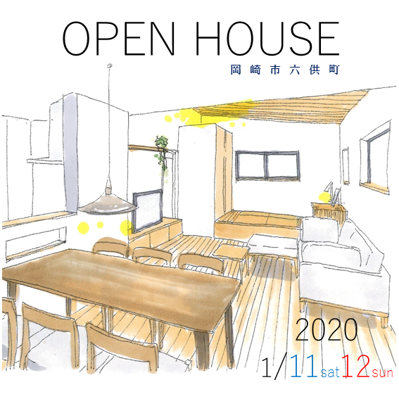 OPEN HOUSE 1/11-12